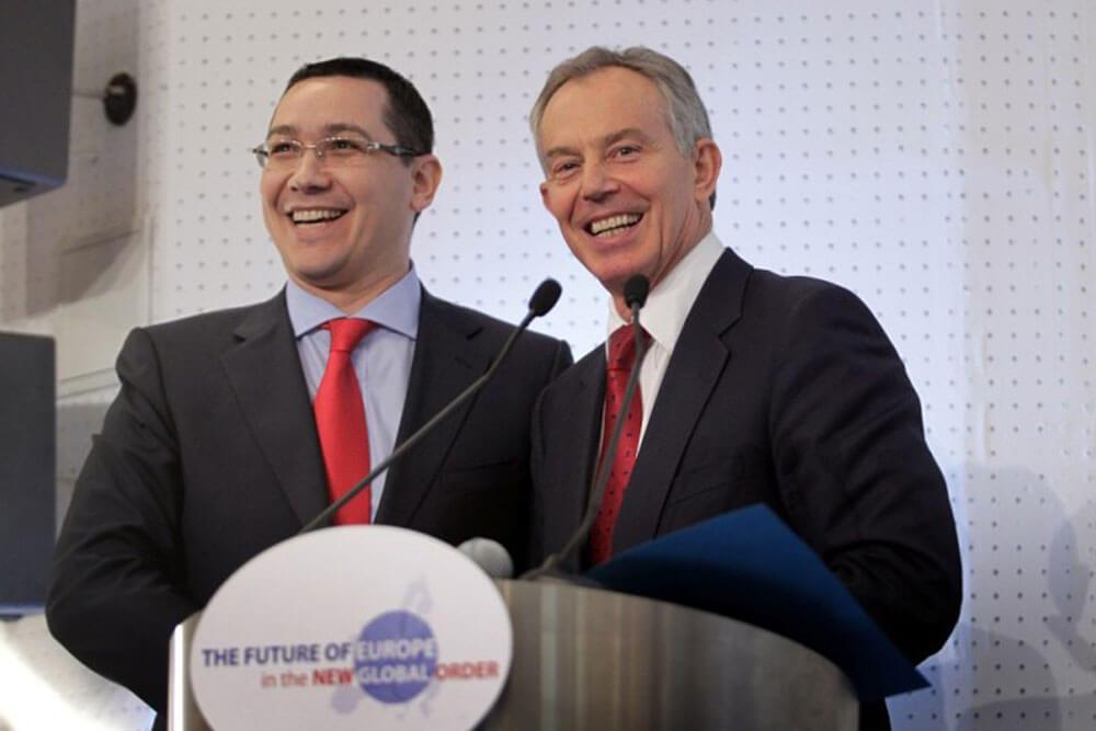 Victor Ponta, Tony Blair I victorponta.ro