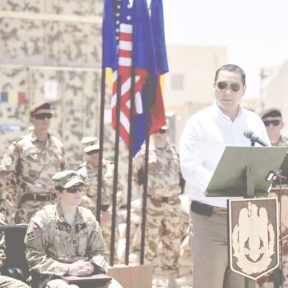 Redarea demnitatii si respectului datorat hainei militare - PRO Romania - Victor Ponta I victorponta.ro