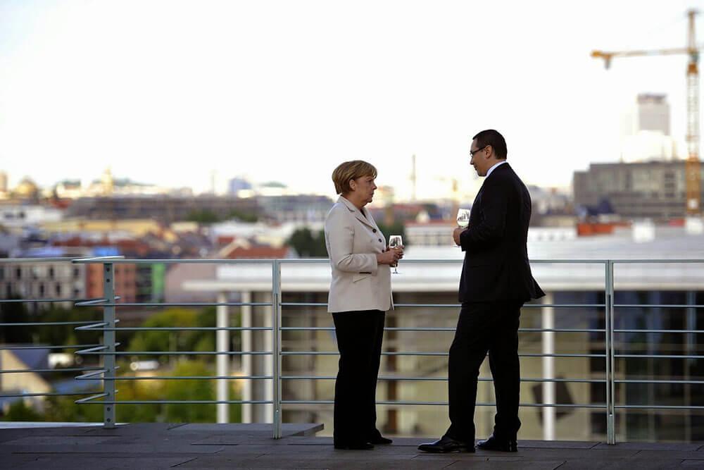 Victor Ponta, Angela Merkel I victorponta.ro