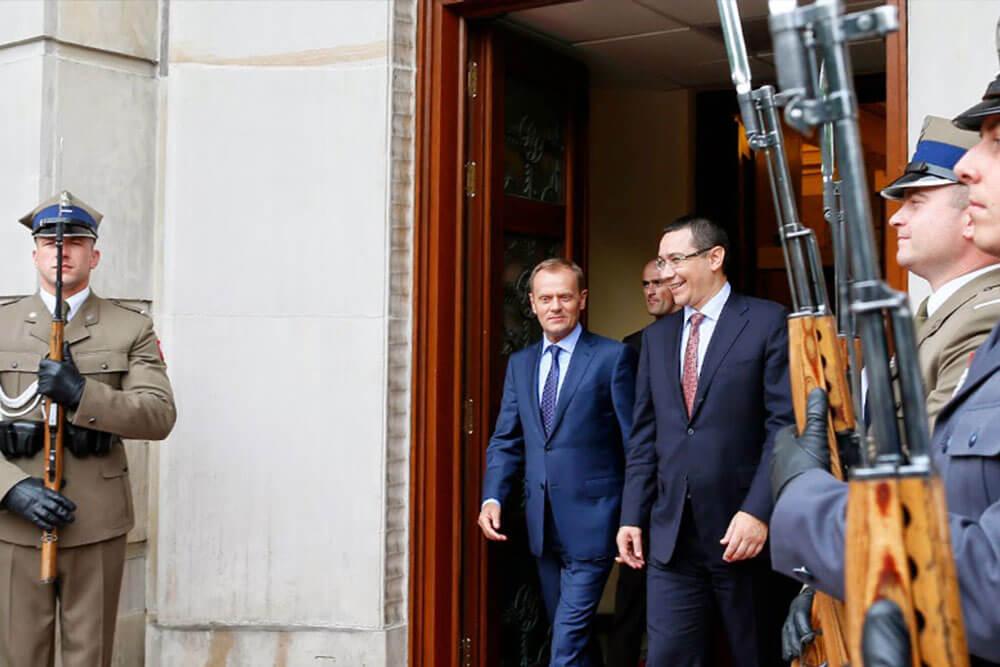 Victor Ponta, Donald Tusk I victorponta.ro