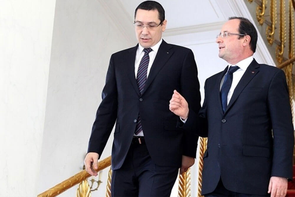 Victor Ponta, Francois Hollande I victorponta.ro