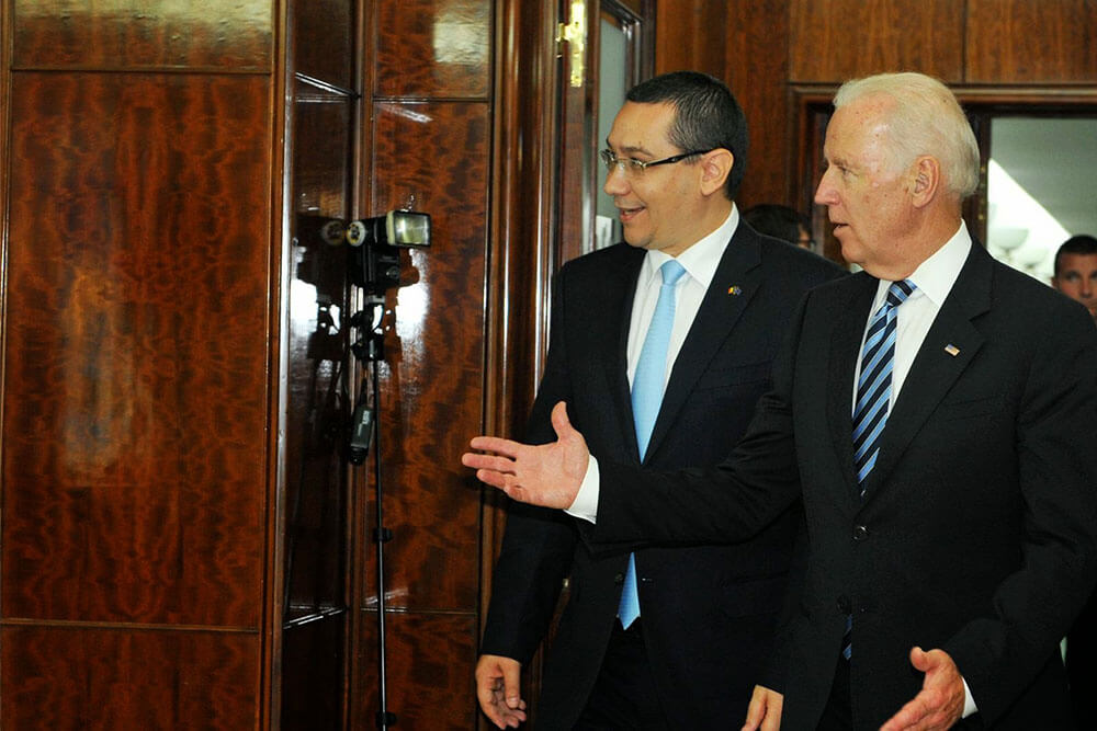 Victor Ponta, joe Biden I victorponta.ro