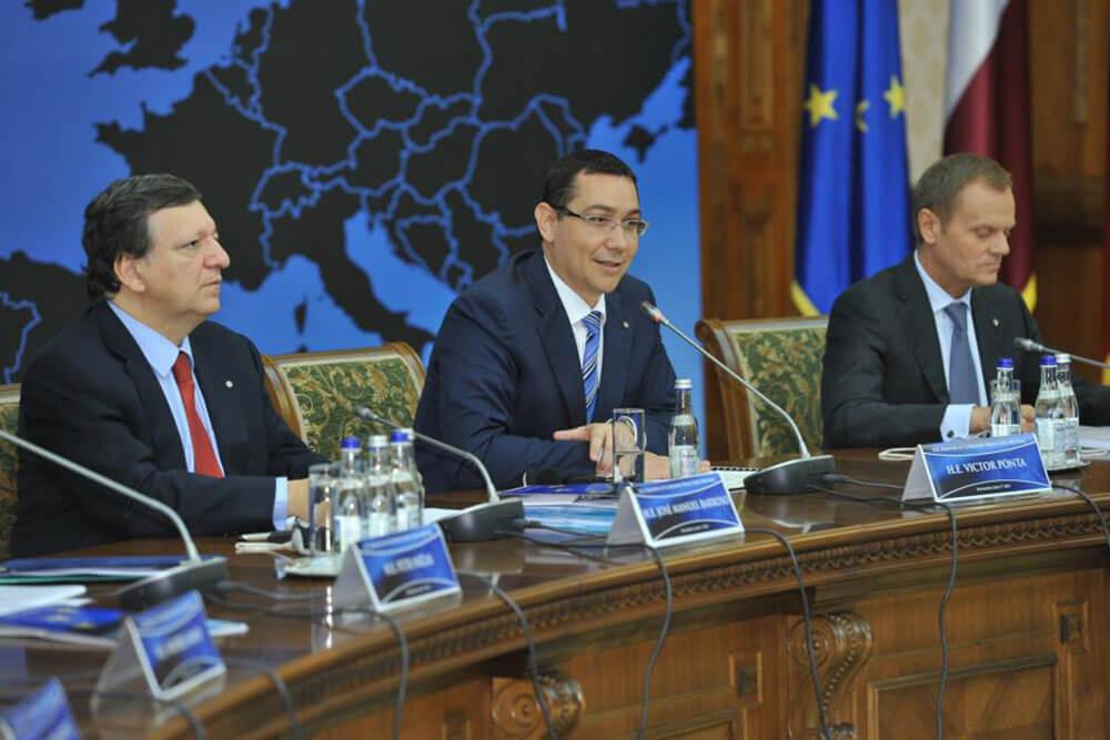 Victor Ponta, Jose Manuel Barroso, Donald Tusk I victorponta.ro