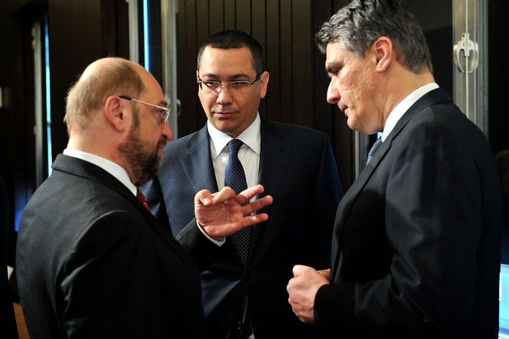 Victor Ponta, Martin Schulz I victorponta.ro